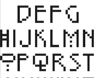 PATTERN- Art Deco Alphabet