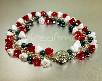 Christmas Meadow bracelet