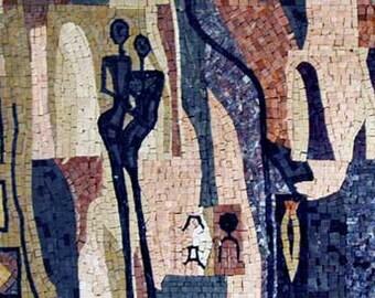 The Modern Age Mosaic Wall Art