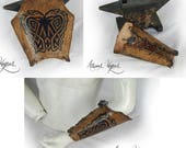 Leather dragon bracers NO...