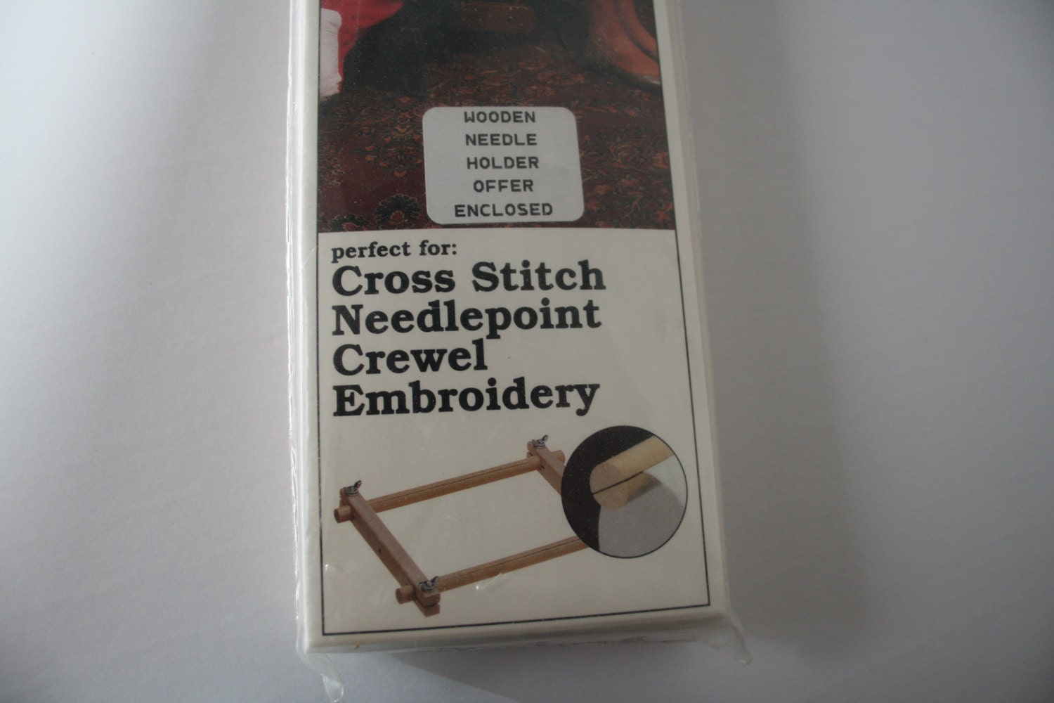 New /Unused SCROLL Frame for cross stitch, needlepoint, crewel and ...