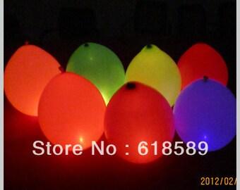 Colorful World Binking Wedding Decoration High Quality Magic Led Flashing Baloon with Flashing Led Balloons Lights(20pcs/lot)