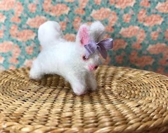 Miniature de lapin tout doux