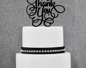 Thank You Cake Topper by Chicago Factory- (T093)