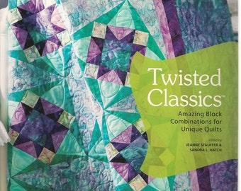 Quilting Fabrics Quilting InstructionsQuilting Pattern Book Twisted Classics Needlecraft Super Shop Brigitte Cornell