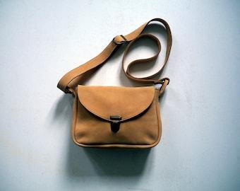 small handbag in nubuck Tan