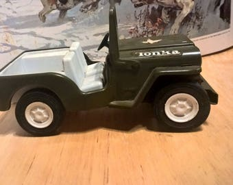 Vintage Tonka Jeep Great Condition Quality Build