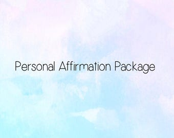 Personal Affirmation Package (PDF Format)