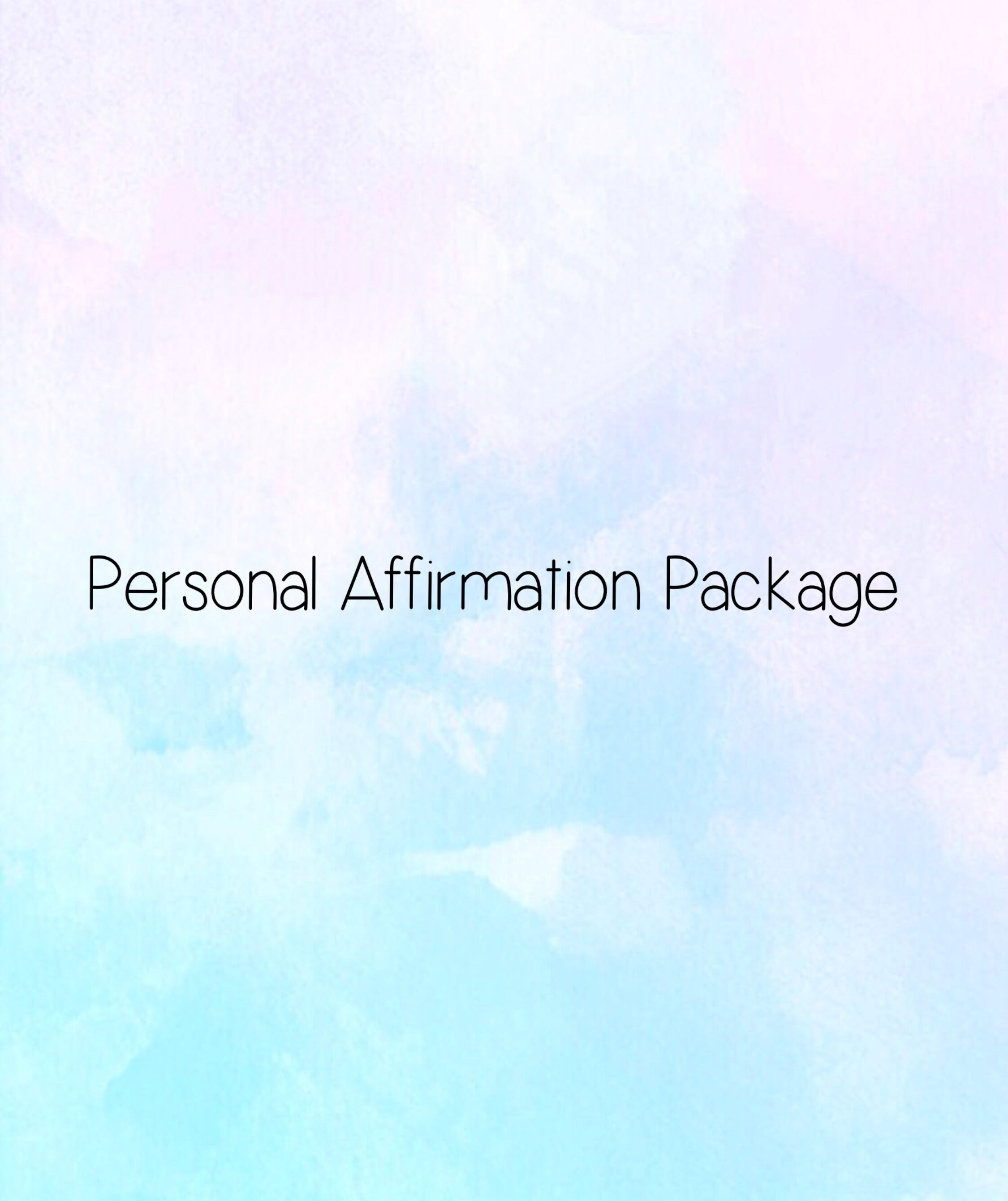 Personal affirmation package pdf format thecheapjerseys Gallery