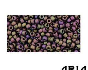 PURPLE IRIS MATTE (85F): 11/o Toho Japanese Seed Beads (10 grams)