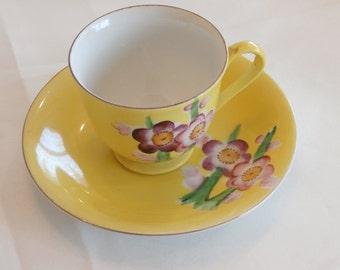 Tashiro Shoten Occupied Japan Small Yellow Tea cup