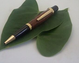 Handmade Snake Wood Ballpoint Twist Pen