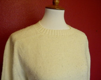 Vintage Jantzen Sweater Classic Cream