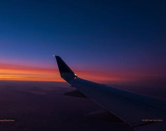 Sunset over the American Southwest