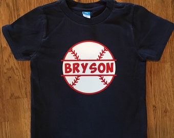 Baseball Name Shirt