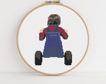 The Shining / Danny Torrance Counted Cross Stitch Pattern: Digital Download