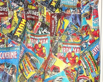 SALE  Marvel Comics The Avengers Iron Man Hulk Thor Captain America Valance Curtain