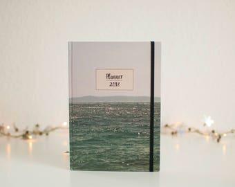Planner 2018, Planner, Brela, Weekly Planner, Agenda Book, Monthly Calendar, Notebook, Daily planner,Christmas gift,Notes,Agenda