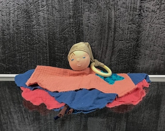 Flower clay no2 waldorf style toy doll
