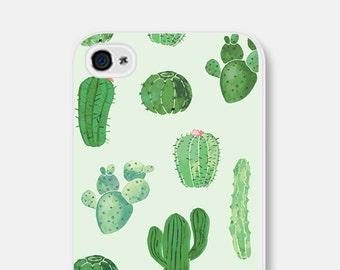 iPhone 6 Case Cactus iPhone 6 Case Mint iPhone 5 Case iPhone 6 Plus Case iPhone 5c Case iPhone Cover Samsung Galaxy S7 Case S6 Case