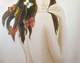 The woman to the moths - Butterflies' Women
