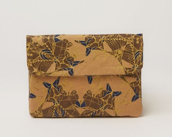 Indigo & Gold Mini Paper Sleeve