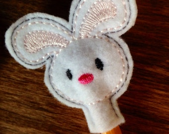 Easter bunny Pencil Topper