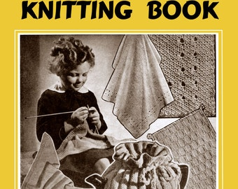 Weldon's 4D (142) c.1939 - Children's Knitting Book (PDF, EBook, Digital Download) With Bonus Pages!