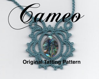 Cameo - Tatted Lace Necklace