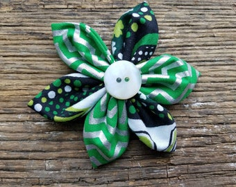 St patricks, flower, dog collar flower, green, small