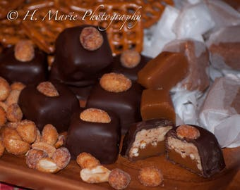Karmetzels - Caramel, Pretzel, Peanut Butter Fudge