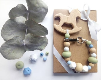 Small carousel: Rattle Teether / pacifier.