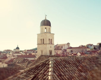 dubrovnik croatia, europe architecture building photography, beige decor, travel, croatia photography, orange roofs D15