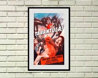 "Reprint of a Vintage Horror Movie Poster - ""Tarantula"""