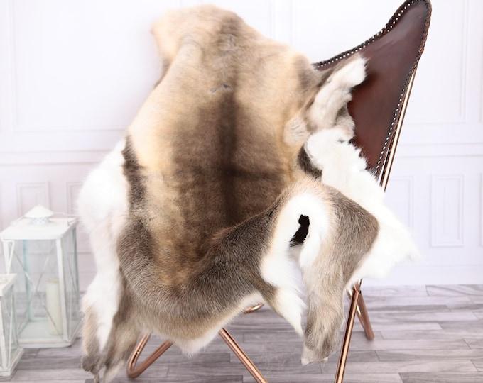 Reindeer Hide | Reindeer Rug | Reindeer Skin | Throw XXXL GIANT - Scandinavian Style #0RE7