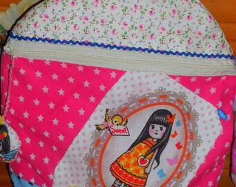 Backpack for kids - little girl