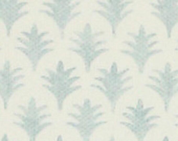 Jane Churchill Aqua Rydall pillow cover
