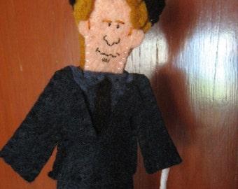 Tom Waits Finger Puppet