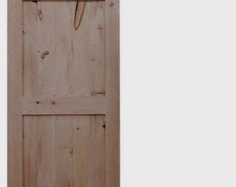 Mid-Bar Style (with border) Farmhouse Sliding Barn Door