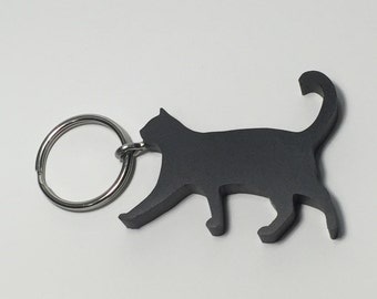 Cat Keychain - Cat Lover Gifts - Eco Friendly Gifts for Cat Lovers