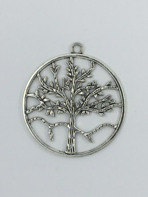 """Great charm - silver tone """"Tree of life"""""""