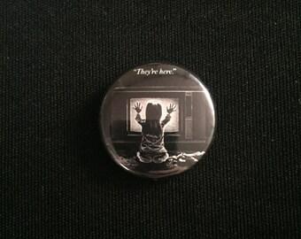 """Poltergeist 1"""" Button"""