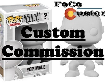 Custom Funko Pop! Commission (Please Send Me a Message Before Purchasing to Consult & Make Sure That Your Idea is Possible!)