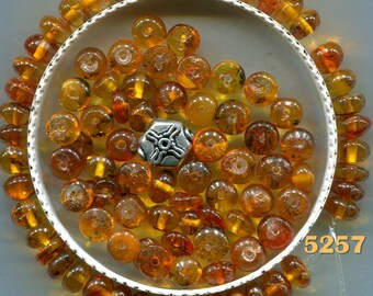 Baltic Amber Beads, Natural Egg Yolk Baltic Amber, 3 Colors, B5227.5228.5257