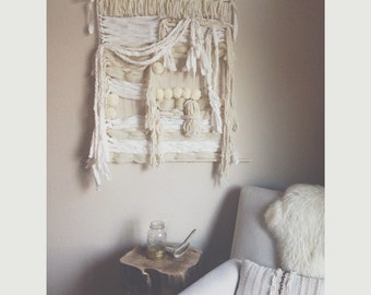 Loose Yarn & Fabric Tapestry