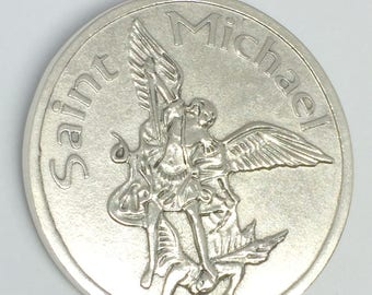 Saint Michael - Archangel - Patron Saint of Grocers, Soldiers, Doctors, Mariners, Paratroopers, Police, Sickness and Suffering