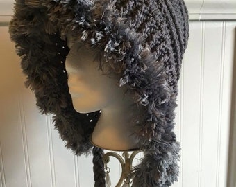 The Lola Hat with Fur- Adult Size - Made to Order