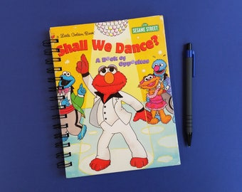 Shall we Dance, Recycled Little Golden Book Journal