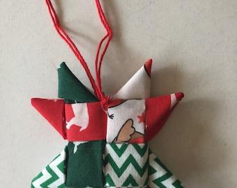 Scandinavian christmas tree star kit