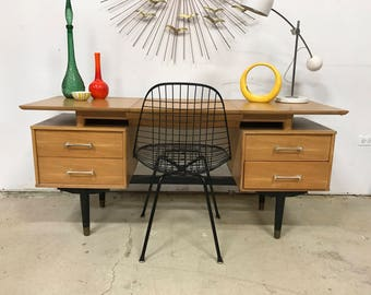 SALE!! Milo Baughman for Drexel Desk / Vanity